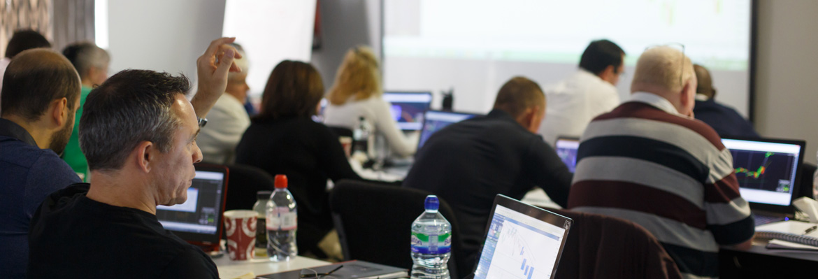 Students at the Forex Trading Masterclass