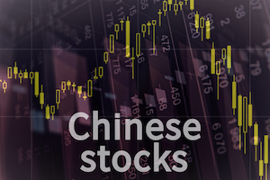 Chinease stocks trade